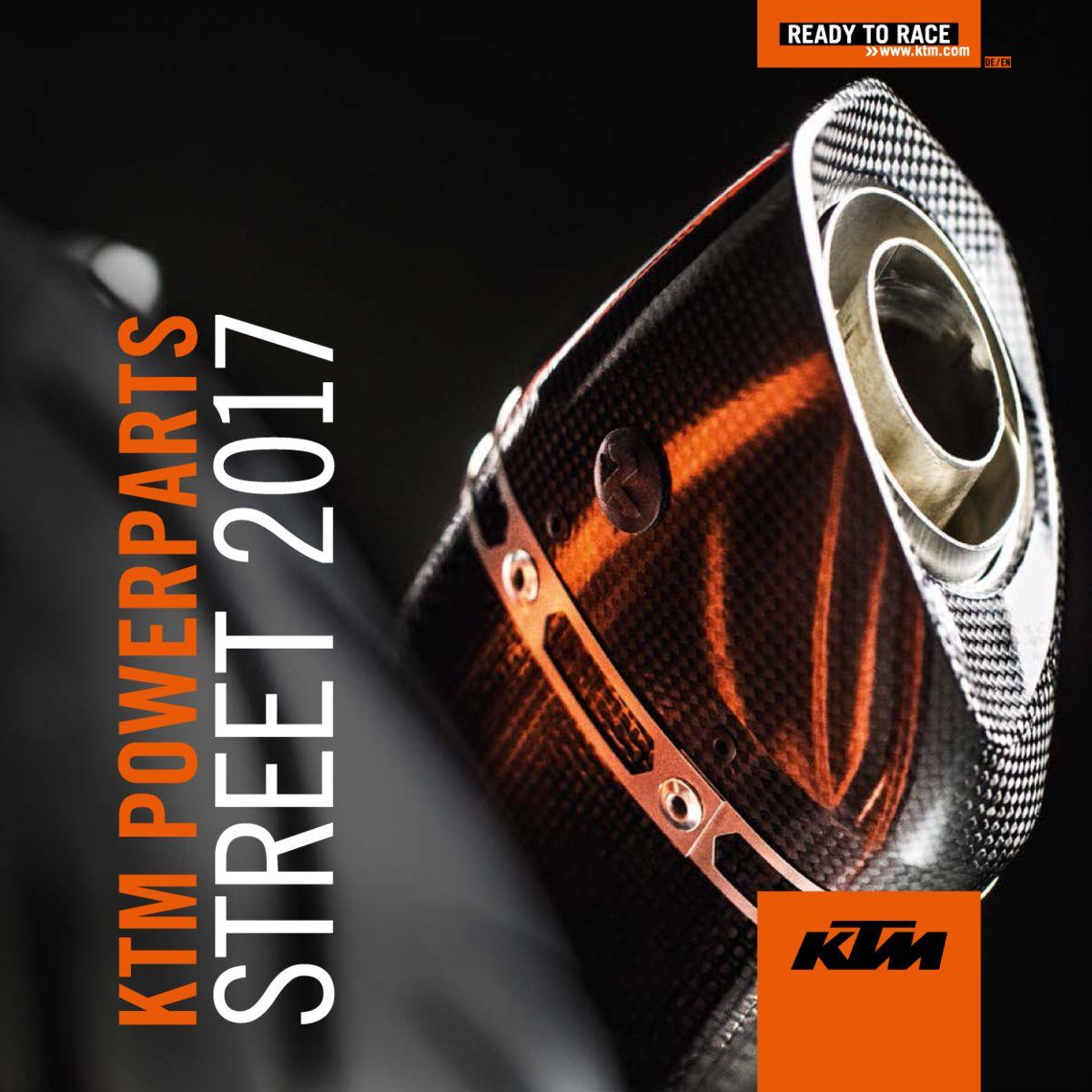KTM POWERPARTS STREET MOTOS ROLAND FREY MÜLENEN